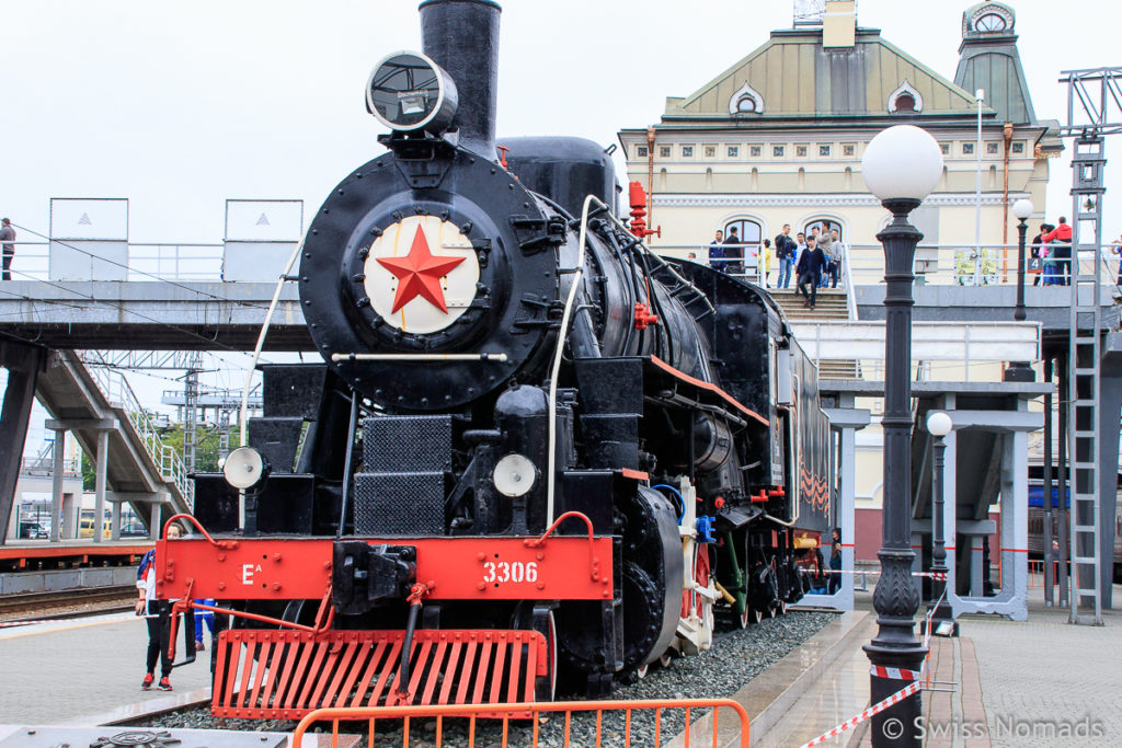 Transsibirische Eisenbahn in Wladiwostok