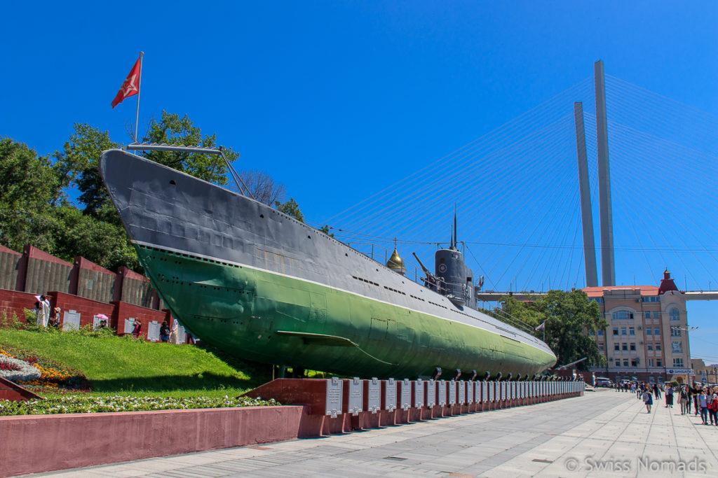 Sehenswürdigkeiten Wladiwostok U-Boot S-56