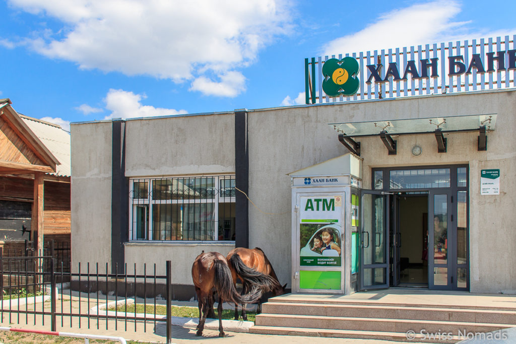 ATM Bank in der Mongolei