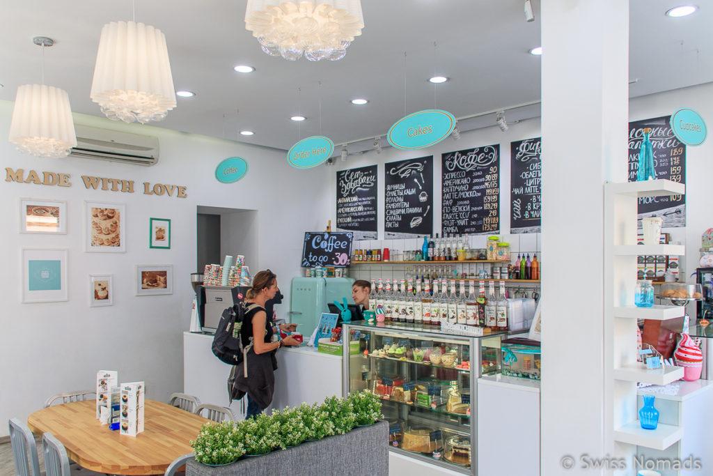 Cafe Irkutsk Russland