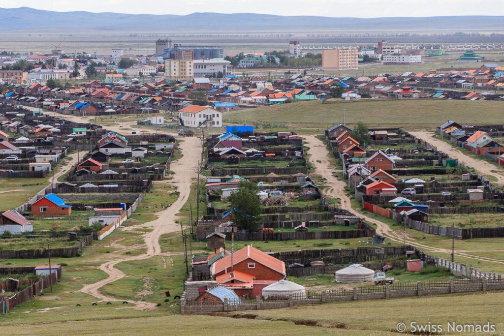 Kharkhorin Dort in der Mongolei