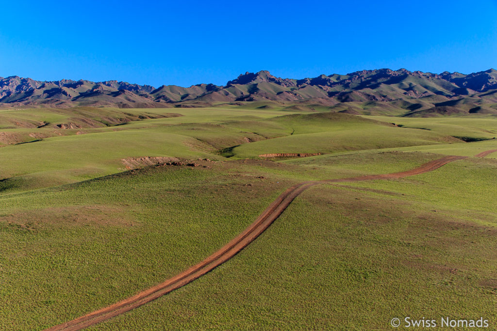 Landschaft die ersten Eindrücke aus der Mongolei