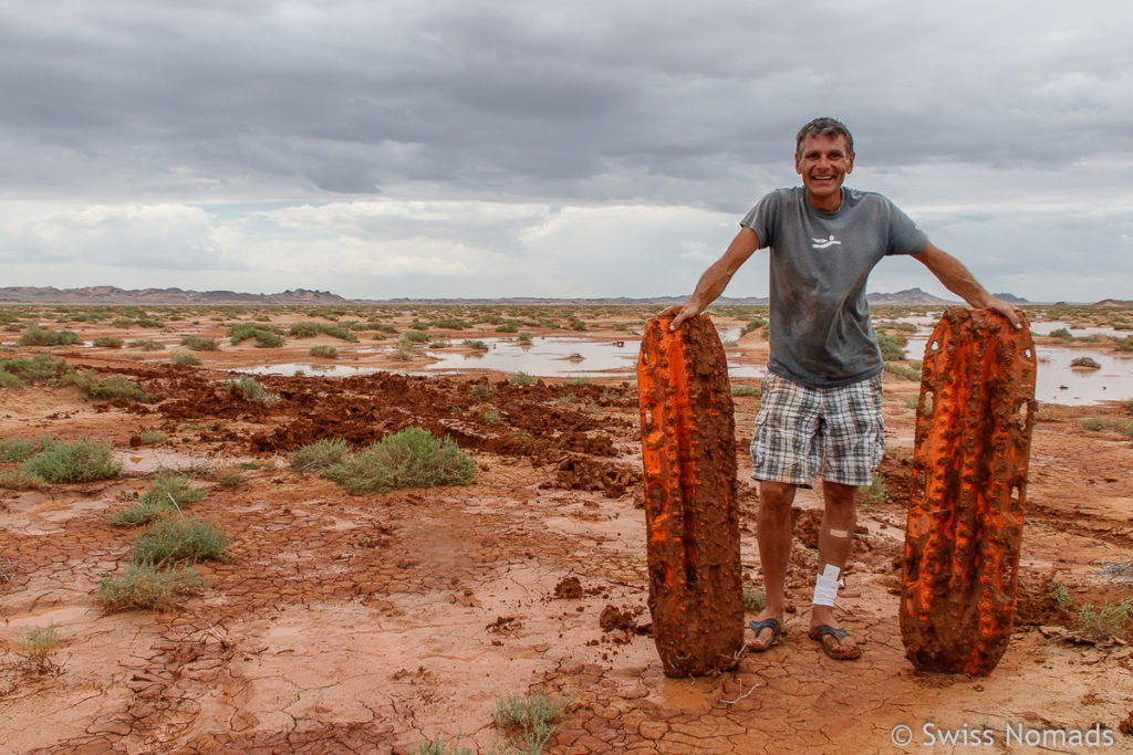 Maxtrax Sandbleche im Einsatz in der Gobi Wüste in der Mongolei