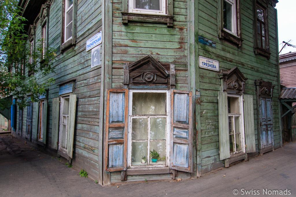 Architektur Sehenswürdigkeiten in Irkutsk