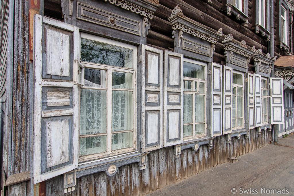 Sehenswürdigkeiten in Irkutsk Architektur