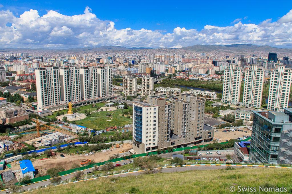 Ulaanbaatar Hauptstadt der Mongolei