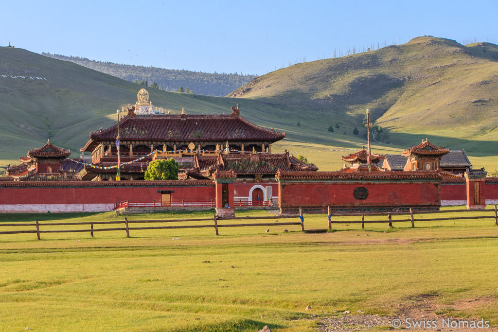 Das Amarbayasgalant Kloster in der Mongolei