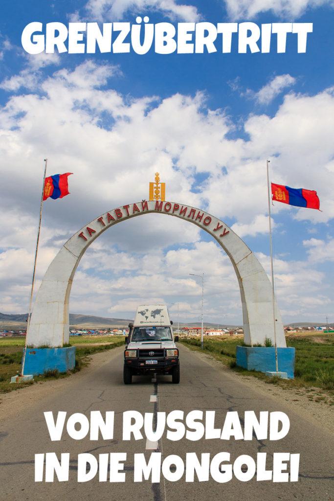 Grenzübertritt Russland Mongolei