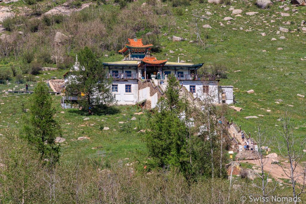 Das Kloster im Gorkhi Terelj Nationalpark in der Mongolei
