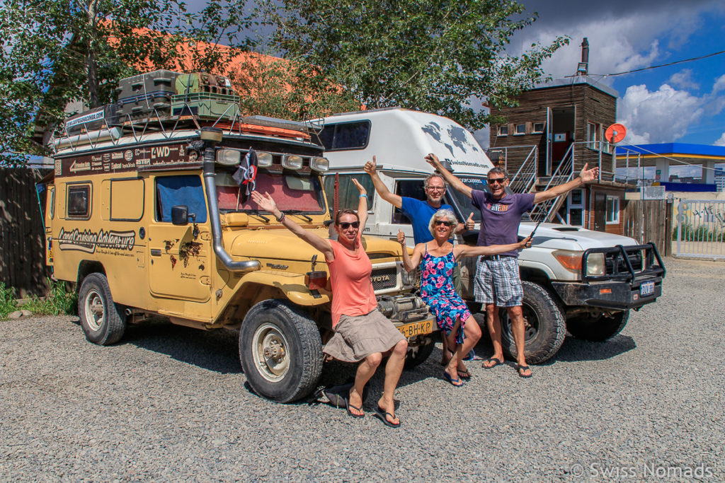Treffen mit Karin-Marjke und Coen von Landcruising Adventure in Ulaanbaatar
