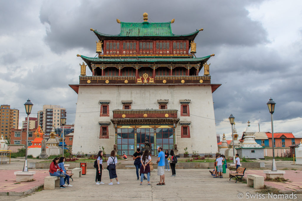 Der Maidari Tempel ist eine Sehenswürdigkeit in Ulaanbaatar