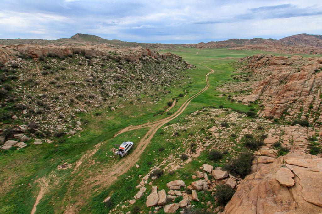 Die Felslandschaft Baga Gazarin Chulu ist einer der schönsten Orte der Mongolei