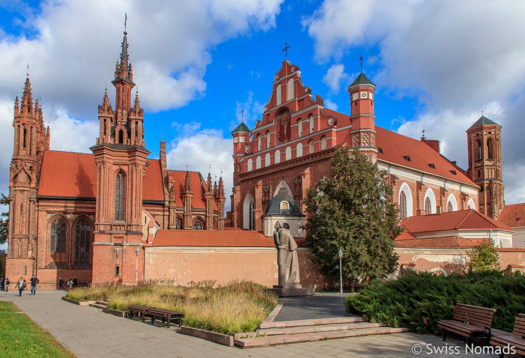 Baltikum Kirche in Vilnius Litauen