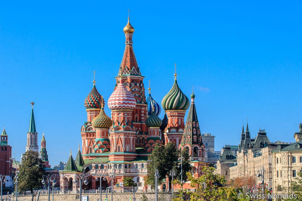 Basilius Kirche Sehenswürdigkeiten in Moskau