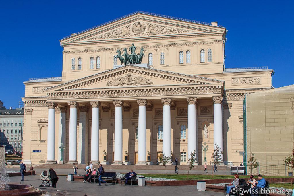 Bolschoi Theater in Moskau