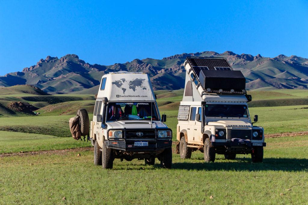 Campen an den schönsten Orten der Mongolei