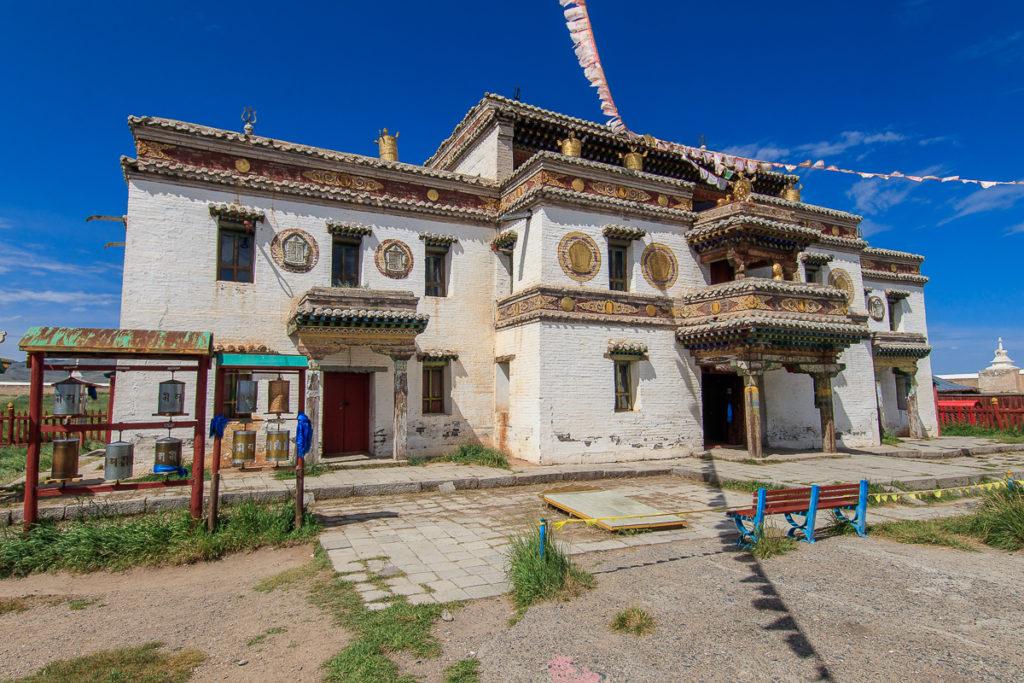 Das Erdene Zuu Kloster gehört zu den schönsten Sehenswürdigkeiten der Mongolei