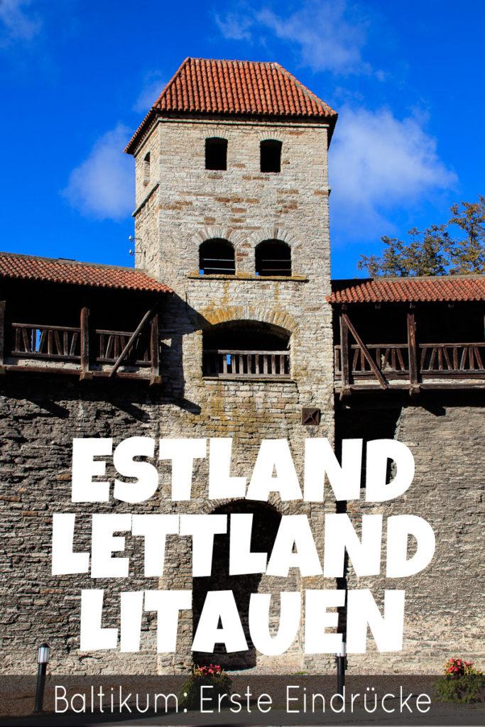 Estland Lettland Litauen Baltikum