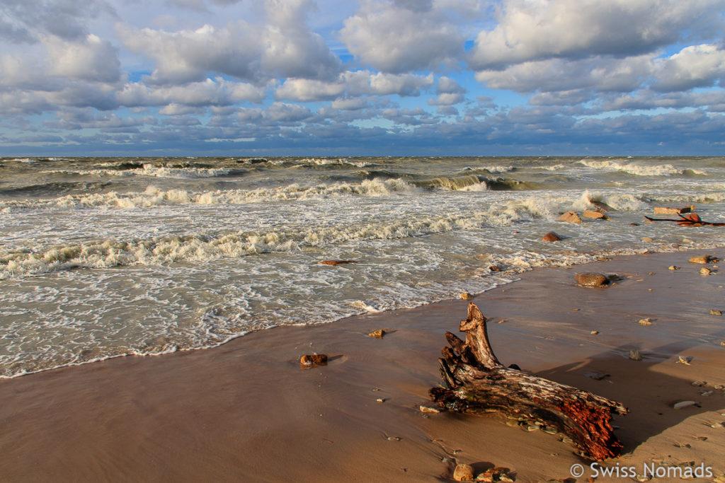 Estland Strand und Camping