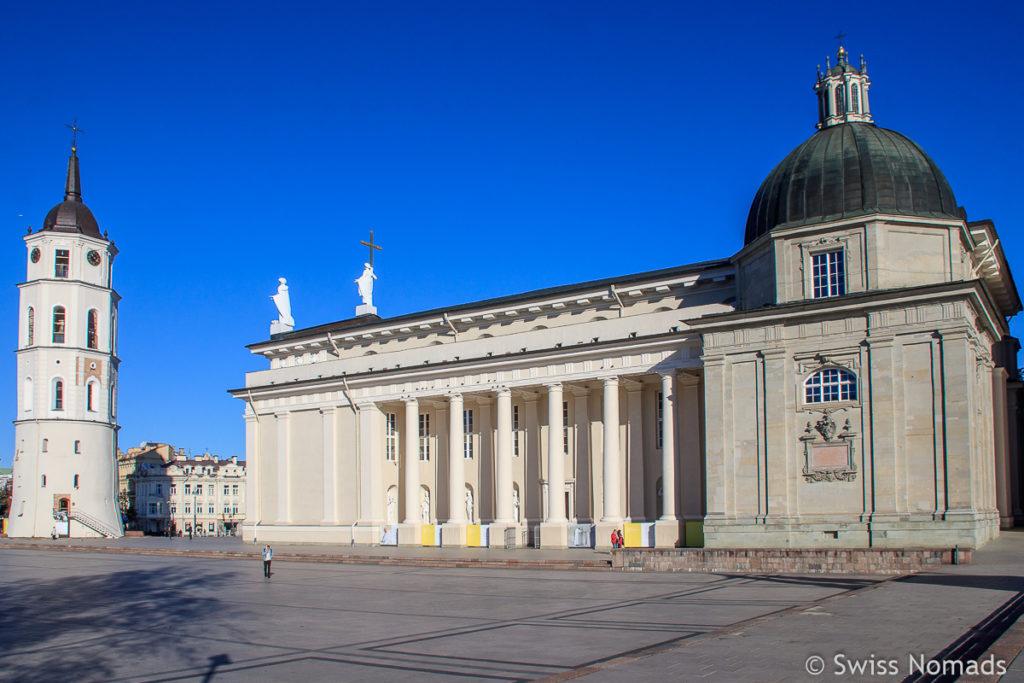 Kathedrale in Vilnius in Litauen