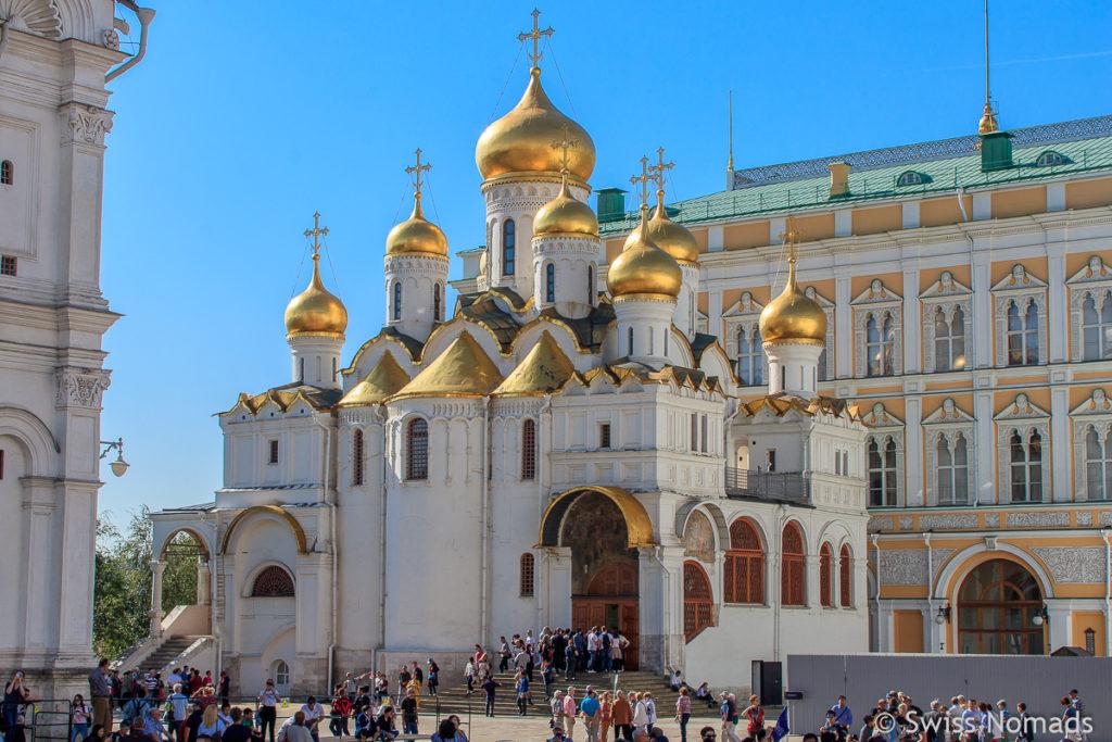 Kreml in Moskau Mariä Verkündigungs Kathedrale