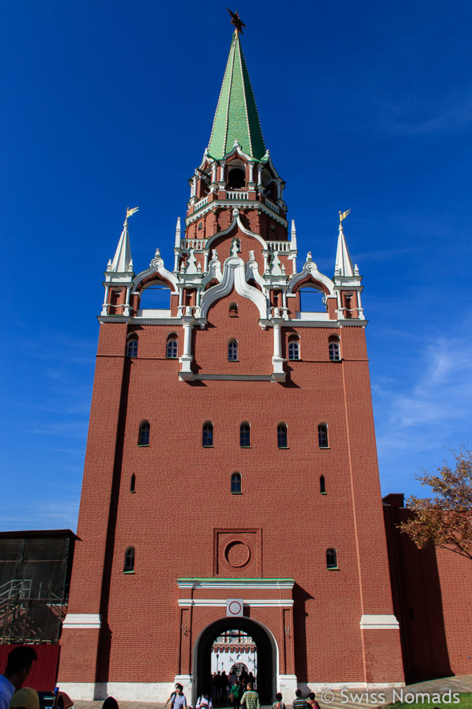 Kutafiya Tower im Moskauer Kreml