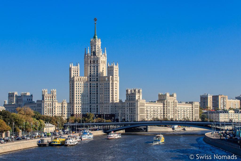 Moskau Sehenswuerdigkeiten
