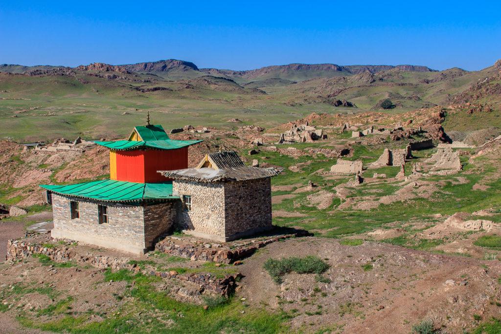 Das Ongi Kloster ist eine abgelegene Sehenswürdigkeit in der Mongolei