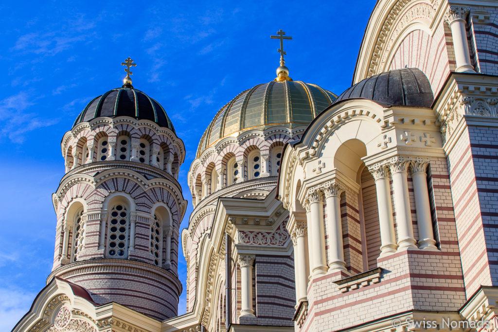 Riga Lettland Russisch-Orthodoxe Kirche