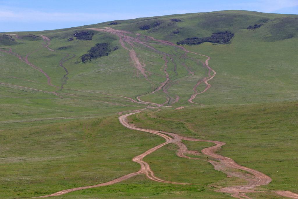 Viele Wege führen zu den schönsten Orte in der Mongolei