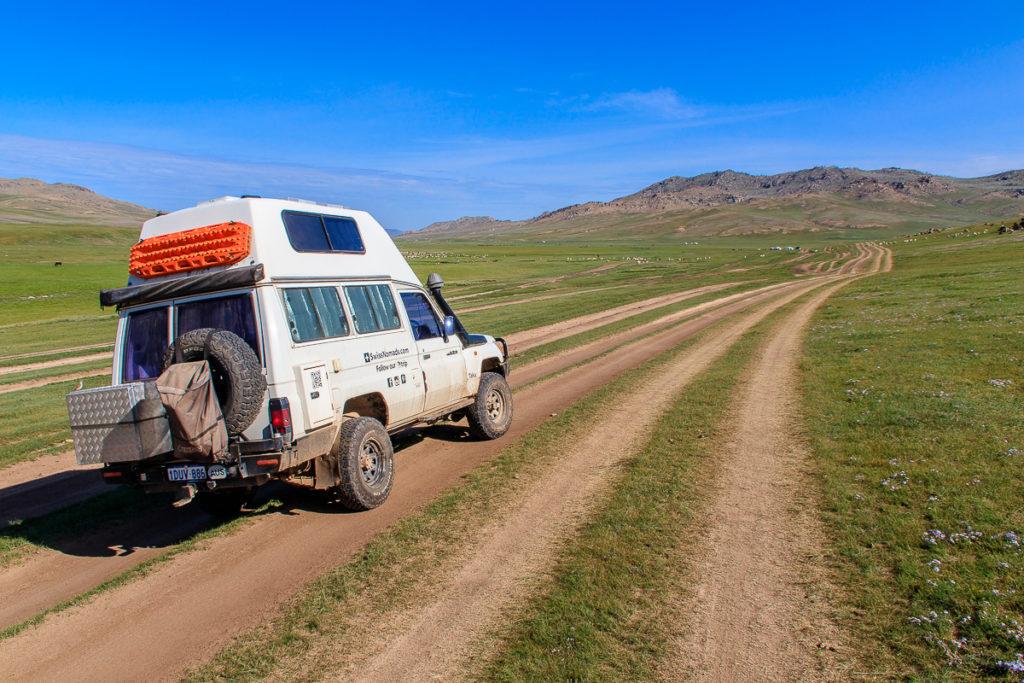 Offroad Abenteuer zu den schönsten Orten in der Mongolei