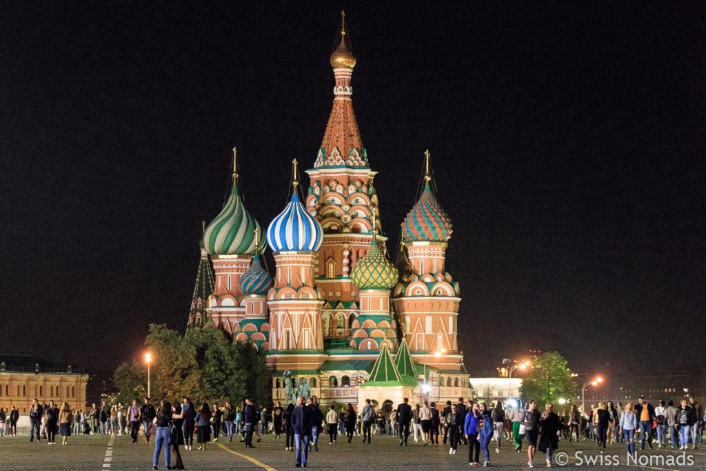 Basilius Kathedrale Sehenswürdigkeiten in Moskau