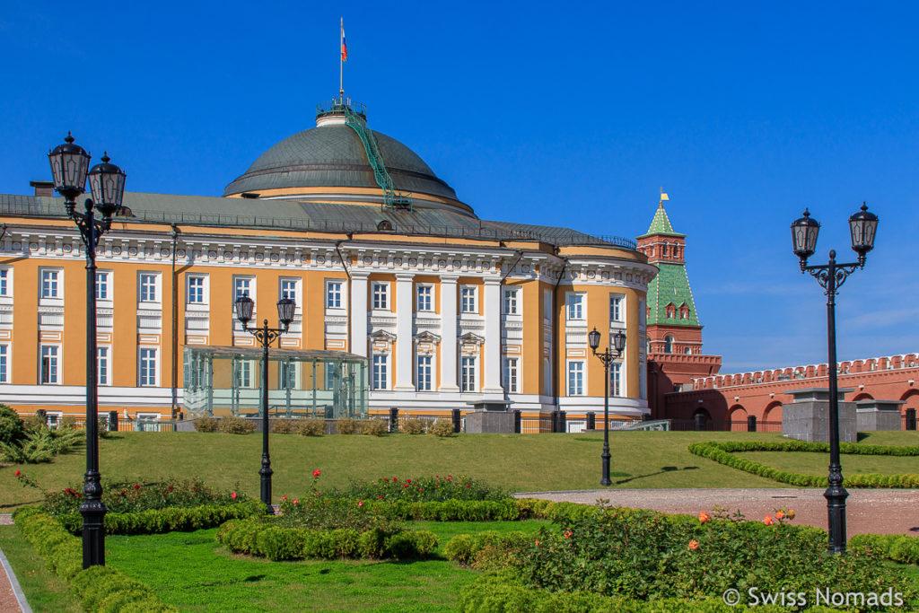 Moskauer Kreml Sehenswürdigkeiten in Moskau