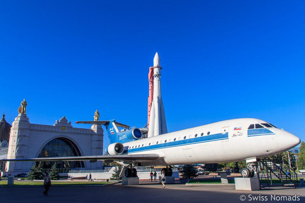 Messe Moskau Flugzeug