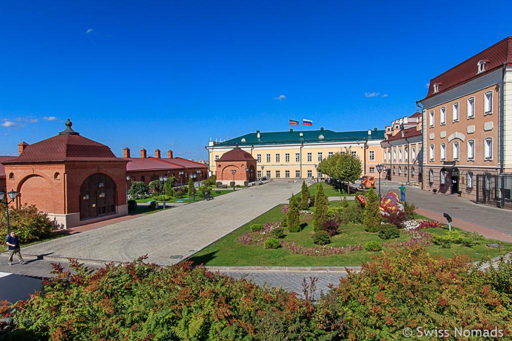 Sehenswürdigkeiten in Kasan der Kasaner Kreml