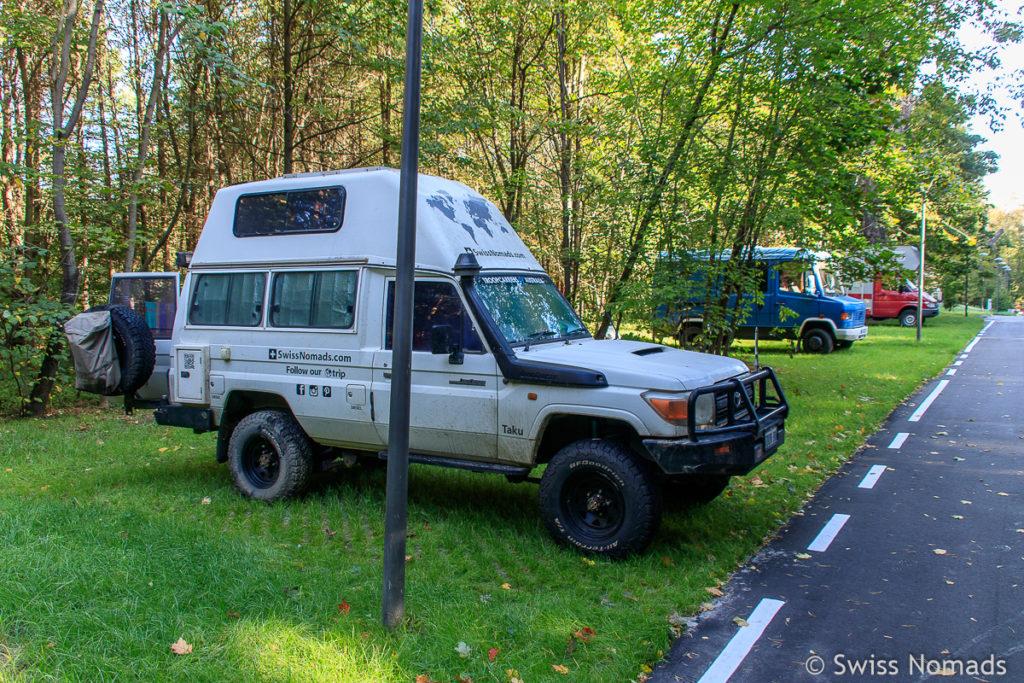 Sokolniki Camping in Moskau