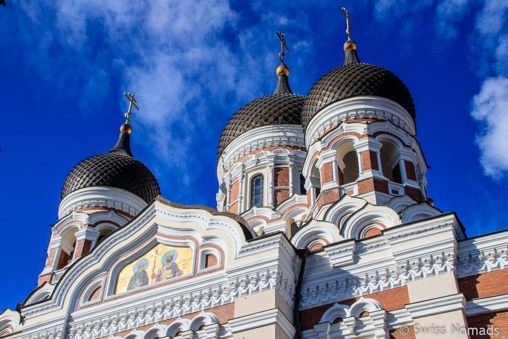 Tallinn Alexander Newski Kathedrale