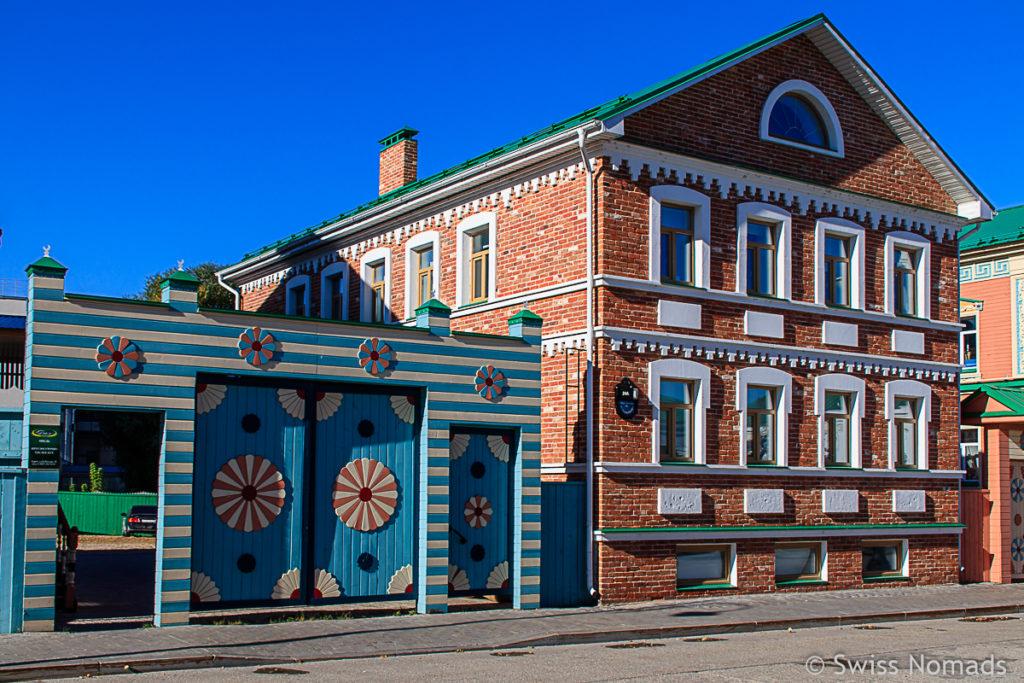 Tatarenviertel Kasan Sehenswürdigkeiten