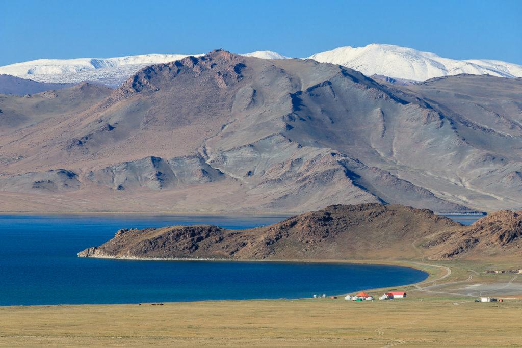 Der Tolbo Nuur See ist einer der schönsten Orte der Mongolei