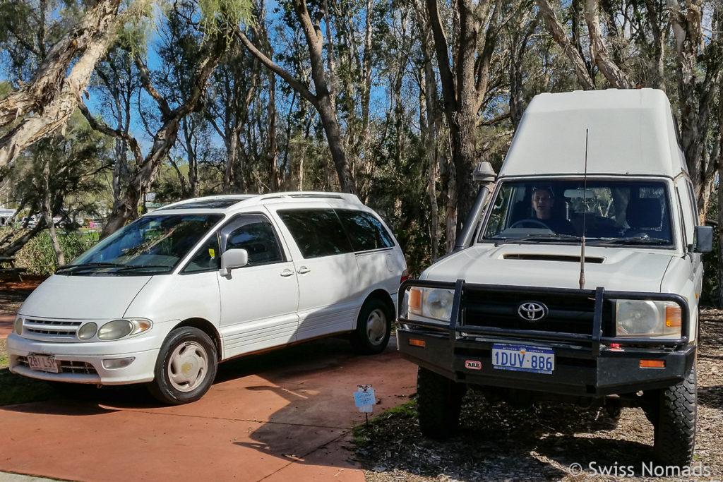 Australien Reisen mit dem eigenen Fahrzeug