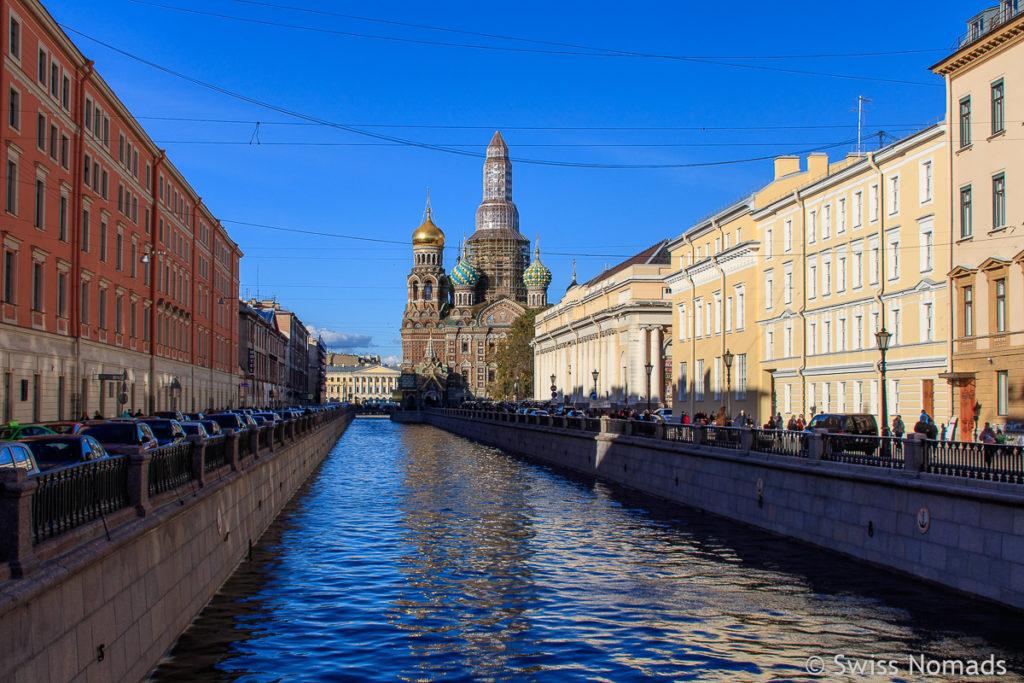 Blutkirche in Sankt Petersburg