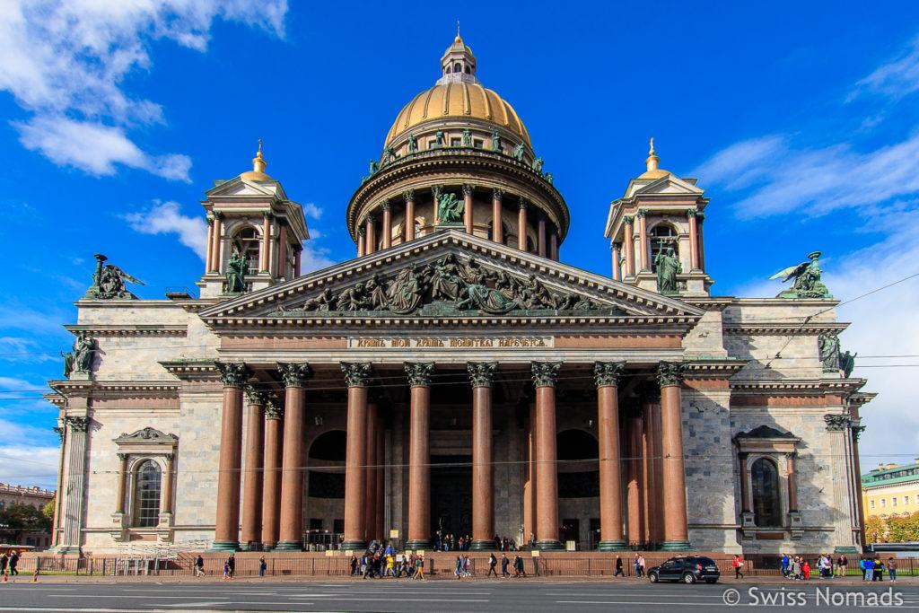 Isaaks Kathedrale in Sankt Petersburg