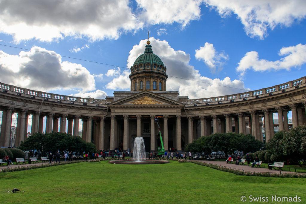 Kazan Kathedrale in Sankt Petersburg