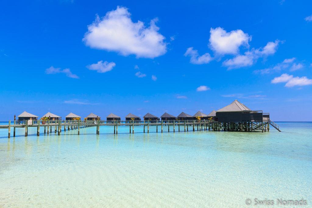 Malediven Reisetipps Unterkunft Insel