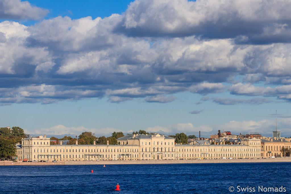 Newa Fluss in Sankt Petersburg
