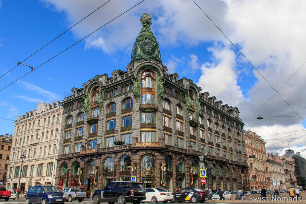 Newsky Prospekt in Sankt Petersburg