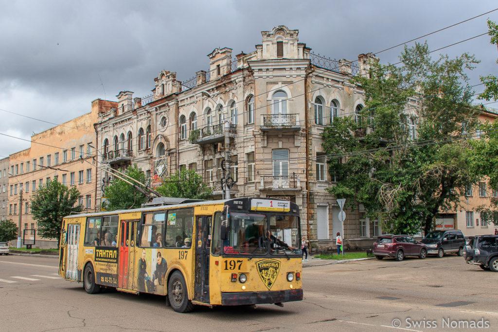 Die Stadt Tschita in Sibirien, Russland
