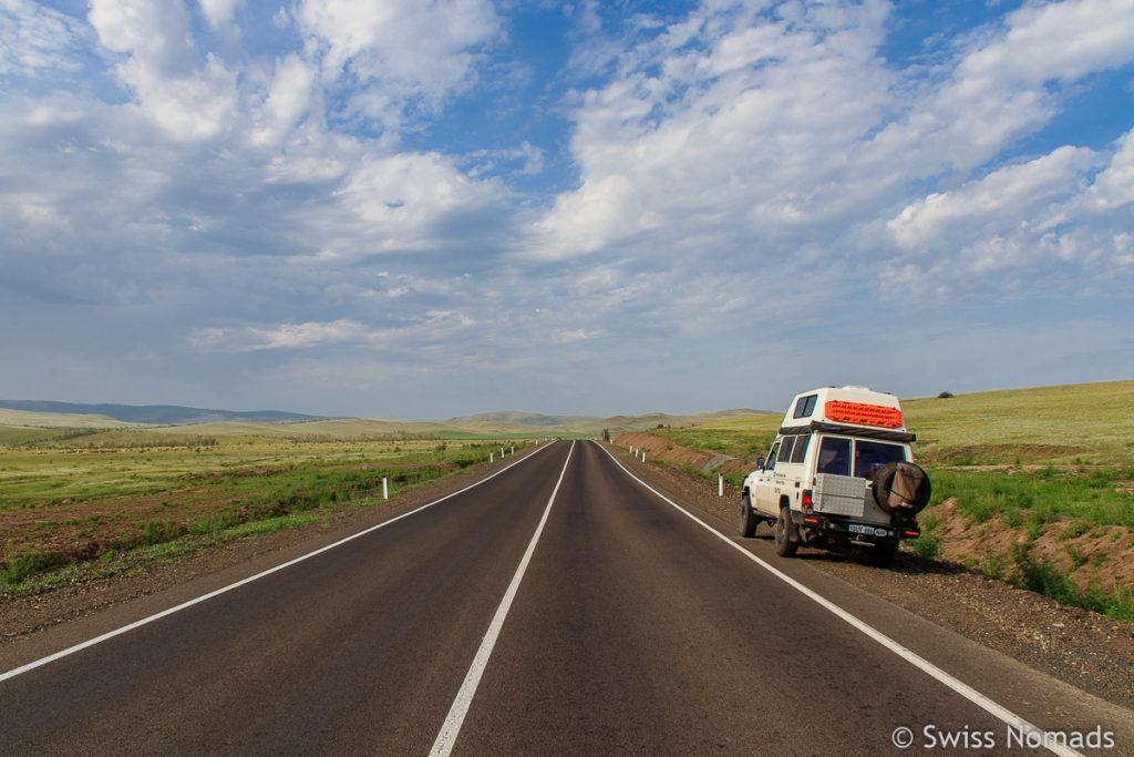 Roadtrip von Wladiwostok zum Baikalsee