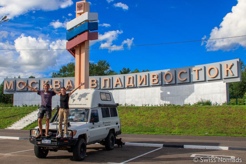 Russland Roadtrip von Wladiwostok nach Moskau