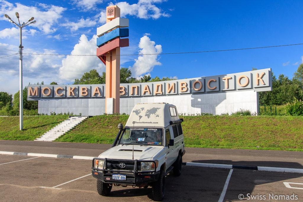 Der Russland Roadtrip von Wladiwostok nach Moskau